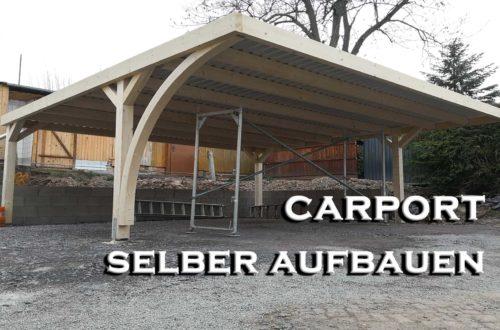 Easycarport Carport selber aufbauen - Projekt Carport #6 - Easycarport - Carport selber bauen