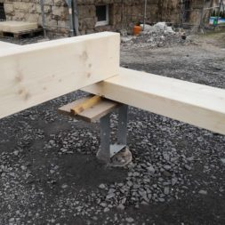 IMG 20190403 162524 - Projekt Carport #5 - Aufbau des Carport - Pfostenlängen berechnen und notwendige Werkzeuge