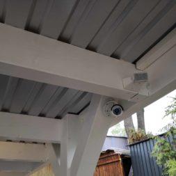 IMG 20190428 090453 - Carport mit LED Lichtband ausleuchten - Kamera und Bewegungsmelder installieren
