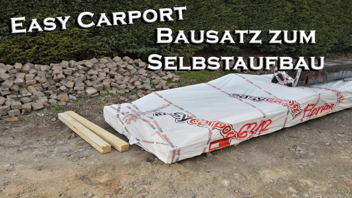 Projekt Carport 4 Lieferung des Bausatzes von Easycarport - EasyCarport - Lieferung des Selbstbausatz