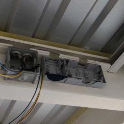 Projekt Carport 7 Elektrik Beleuchtung Ueberwachung1 - Carport mit LED Lichtband ausleuchten - Kamera und Bewegungsmelder installieren