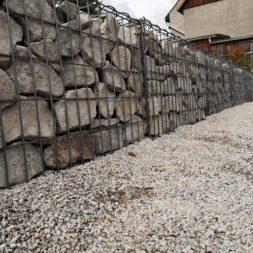 Hangsicherung und Hochbeet bauen mit Gabionen 031 - Gabionen Mauer am Hang ausbauen und erweitern | Hangsicherung | Hochbeet