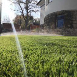 Hunter Rasenbewaesserung winterfest machen Druckluft ist die Loesung 2 - Garten für den Winter fit machen - Rasen und Bewässerungsanlage einwintern