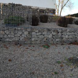 IMG 20201114 091343 - Gabionen Mauer am Hang ausbauen und erweitern | Hangsicherung | Hochbeet