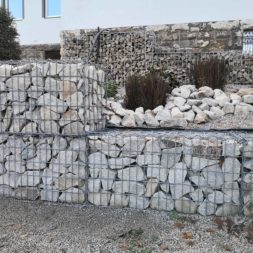 IMG 20201114 120410 - Gabionen Mauer am Hang ausbauen und erweitern | Hangsicherung | Hochbeet