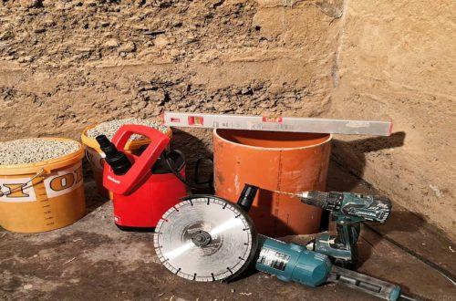 Keller Trockenlegen Pumpensumpf Sickerschacht bauen 1 - Keller Trockenlegen - Pumpensumpf | Sickerschacht selber bauen