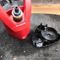 Keller trocken legen pumpensumpf pumpe defekt Rueckschlagventil einbauen 2 - Keller Trockenlegen - Neue Tauchpumpe nach 1 Monat zerstört