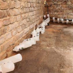 Keller Trockenlegen Inkektion 9 - Keller Trockenlegen mit Injektion #4 - Woche 3 Infrarotheizung kommt zum Einsatz