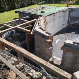 BPC Pool Terrasse umbauen 17 - Pool umbauen - Rückbau Pool Terrasse | BPC Dielen | Unterkonstruktion | Pool-Technik