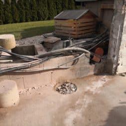 Pool umbauen Abriss Stuetzwaende Einschalung entfernen 36 - Poolumbau – Abriss Stützwände und Einschalung entfernen