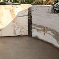 Pool umbauen Abriss Stuetzwaende Einschalung entfernen 39 - Poolumbau – Abriss Stützwände und Einschalung entfernen