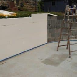 pool aufbau und anschluss 2 - Pool Umbau - Rückbau vom Stahlwandpool