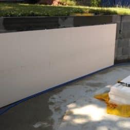 pool schacht und mauerarbeiten 53 - Pool Umbau - Rückbau vom Stahlwandpool