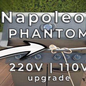 Napoleon PHANTOM P500 Umbau auf externe Stromversorgung 1 - Gasgrill Napoleon PHANTOM auf externe Stromversorgung umbauen