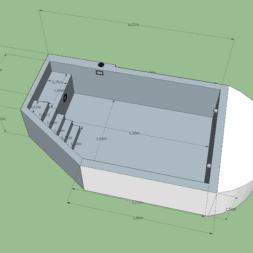 Pool Plan 1 - Pool umBAUEN – Pool planen | 3D Grundriss erstellen | Welche Einbauteile sollen verbaut werden?