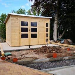 Gartenhaus mit Vogelvoliere selber bauen aufbau gartenlaube commaik.de 50 - Gartenhaus mit Vogelvoliere selber bauen