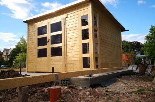 Gartenhaus mit Vogelvoliere selber bauen aufbau gartenlaube commaik.de 52 - Gartenhaus mit Vogelvoliere selber bauen