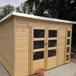 Gartenhaus mit Vogelvoliere selber bauen aufbau gartenlaube commaik.de 56 - Gartenhaus mit Vogelvoliere selber bauen