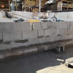 Pool umbauen Waende mauern Bewehrung einbauen 16 - Pool UMbauen – Wände mauern | Bewehrung einbauen | Schalsteine setzen