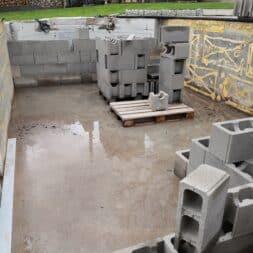 Pool umbauen Waende mauern Bewehrung einbauen 34 - Pool UMbauen – Wände mauern | Bewehrung einbauen | Schalsteine setzen