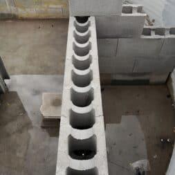 Pool umbauen Waende mauern Bewehrung einbauen 38 - Pool UMbauen – Wände mauern | Bewehrung einbauen | Schalsteine setzen