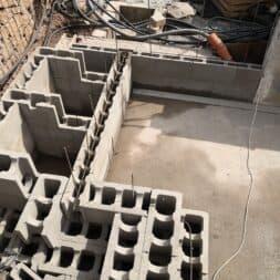 pool umbauen waende mauern bewaehrung einbauen commaik.de 53 - Pool UMbauen – Wände mauern | Bewehrung einbauen | Schalsteine setzen