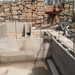 pool umbauen waende mauern bewaehrung einbauen commaik.de 57 - Pool UMbauen – Wände mauern | Bewehrung einbauen | Schalsteine setzen