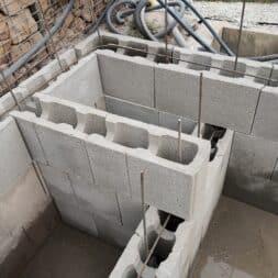 pool umbauen waende mauern bewaehrung einbauen commaik.de 64 - Pool UMbauen – Wände mauern | Bewehrung einbauen | Schalsteine setzen