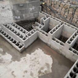pool umbauen waende mauern bewaehrung einbauen commaik.de 74 - Pool UMbauen – Wände mauern | Bewehrung einbauen | Schalsteine setzen