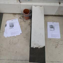 Gartenkueche bauen–Sockel und Waende mit Gasbeton Pornbeton Ytong mauern commaik.de 25 - Gartenküche bauen #2 – Sockel und Wände mit Gasbeton mauern