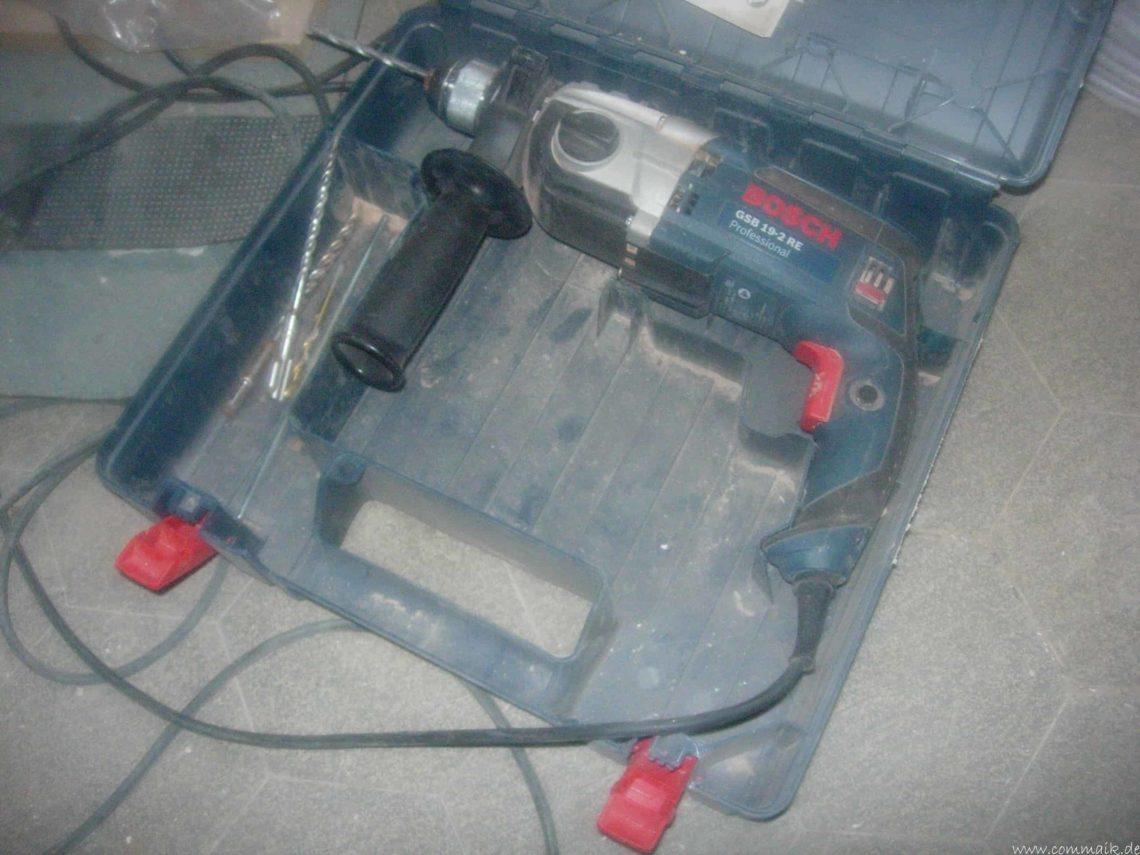 DSCN7452 - Bohrmaschine GSB 19-2 RE Professional- Ein gutes Gerät, leider nicht für mich!