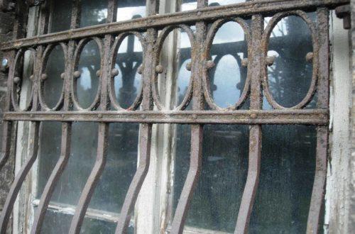 Fenstergitter Jugendstil