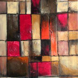 Wettbewerb 002 - abstrakte Kunst - Ölgemälde für unsere Villa