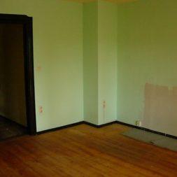 dscn4268 - Das Wohnzimmer vor Baubeginn