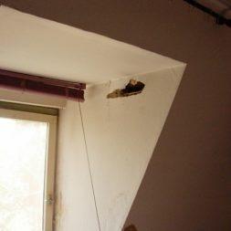 dscn42991 - Der Einbau der Dachfenster-Abriss der Gauben
