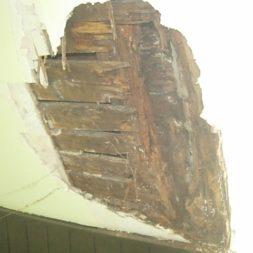 dscn43221 - Der Einbau der Dachfenster-Abriss der Gauben