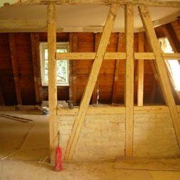 dscn5108 - Entkernen des Wohnzimmers - Trockenbauvorbereitungen