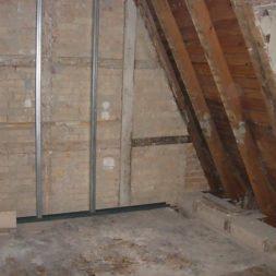 dscn5305 - Rohbau in der neuen Küche - Dämmung und Installationen