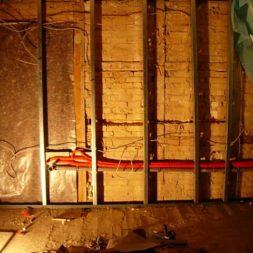 dscn5379 - Rohbau in der neuen Küche - Dämmung und Installationen