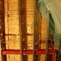 dscn5380 - Rohbau in der neuen Küche - Dämmung und Installationen