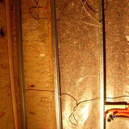 dscn5382 - Rohbau in der neuen Küche - Dämmung und Installationen