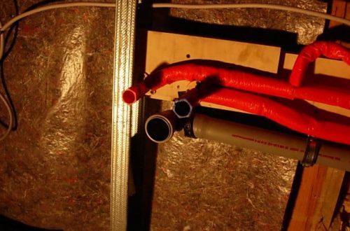 dscn53831 - Rohbau in der neuen Küche - Dämmung und Installationen