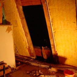 dscn5404 - Der Einbau der Dachfenster-Abriss der Gauben