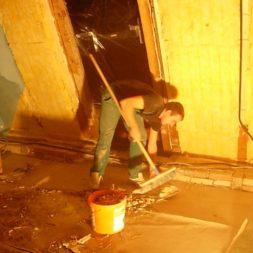 dscn5415 - Der Einbau der Dachfenster-Abriss der Gauben