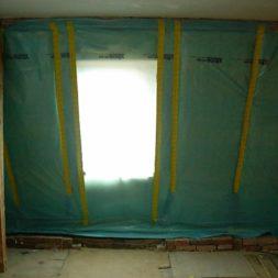 dscn5446 - Rohbau in der neuen Küche - Dämmung und Installationen