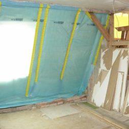 dscn5448 - Rohbau in der neuen Küche - Dämmung und Installationen