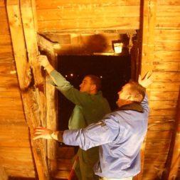 dscn5475 - Der Einbau der Dachfenster-Abriss der Gauben