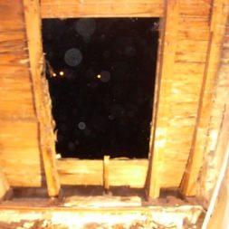 dscn5477 - Der Einbau der Dachfenster-Abriss der Gauben