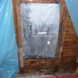 dscn5481 - Der Einbau der Dachfenster-Abriss der Gauben