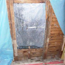 dscn5482 - Der Einbau der Dachfenster-Abriss der Gauben